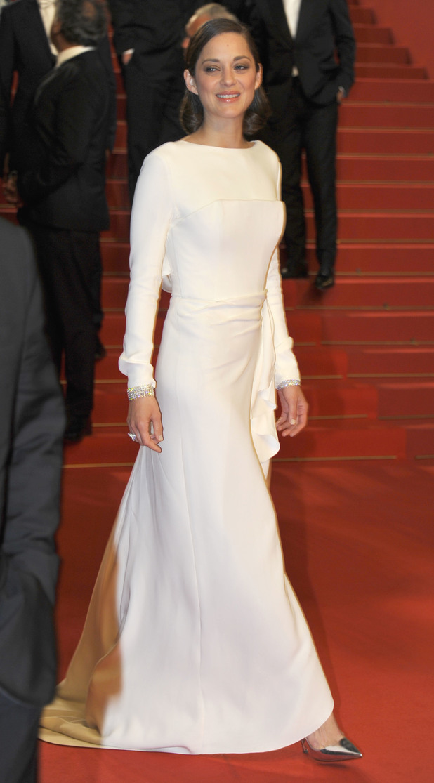 Christian Dior gown, 66th Cannes Film Festival, The Immigrant premiere
