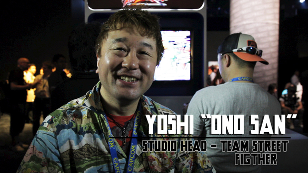 Yoshi Ono San - Head of team Street Fighter at Capcom