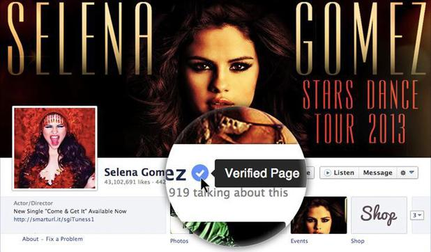 Facebook launches verified accounts