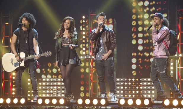 Luminites performs on the 3rd 'Britain's Got Talent' Semi Final Show