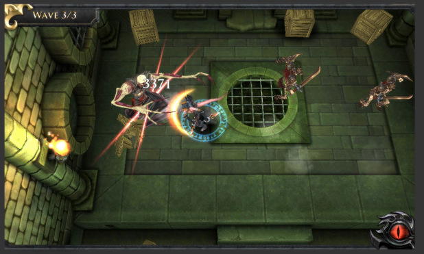'Dungeons and Dragons: Arena of War' screenshot