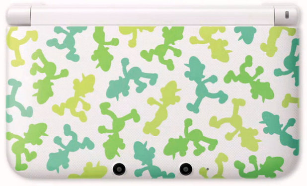 Luigi-themed Nintendo 3DS XL