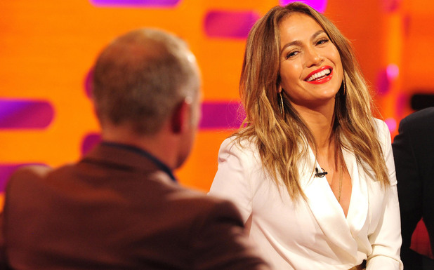 Jennifer Lopez on the Graham Norton show