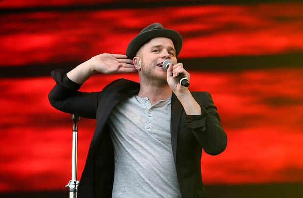 Radio One's Big Weekend 2013 - Day 3: Olly Murs