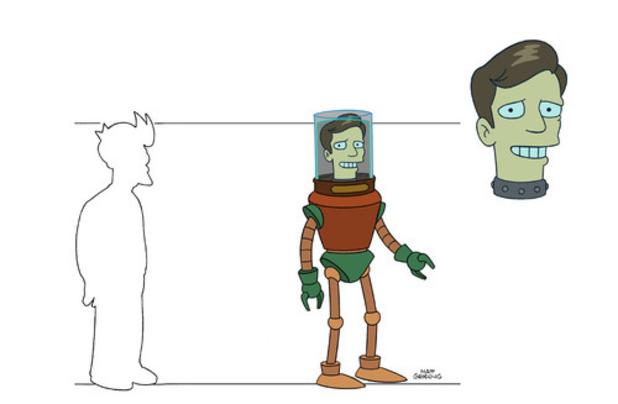 Futurama Burt Ward