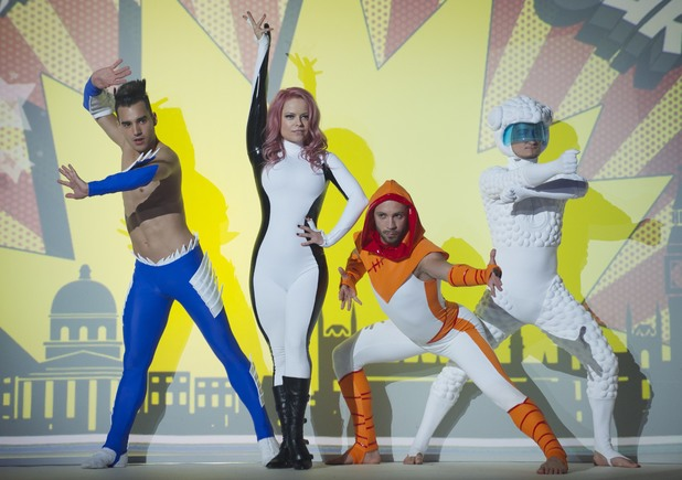 Freelusion perform on the 3rd 'Britain's Got Talent' Semi Final Show