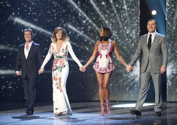 'Britain's Got Talent' Semi-final show 1: Simon Cowell, Amanda Holden, Alesha Dixon and David Walliams