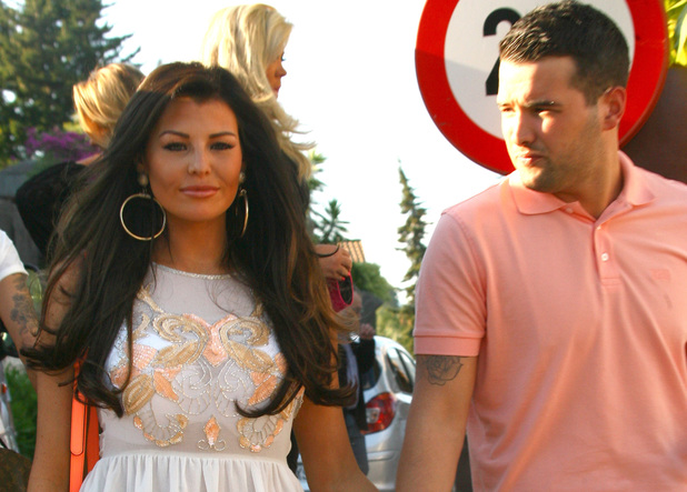 Jessica Wright & Ricky Rayment in Marbella