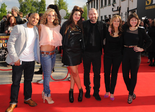'The Stone Roses: Made of Stone' world premiere: 'This Is England's Andrew Shim, Chanel Cresswell, Charlotte Tree, Johnny Harris, Sophie Ellerby and Jo Hartley