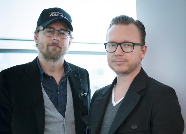 'Kon Tiki' directors Joachim Rønning (L) and Espen Sandberg (R)