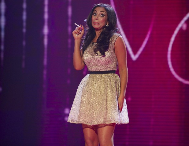 Francine Lewis performs on the 4th semi-final of Britain's Got Talent