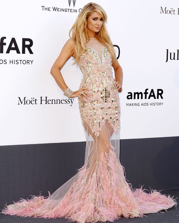 Paris Hilton attends the amfAR Cinema Against Aids 2013 Gala at Cannes