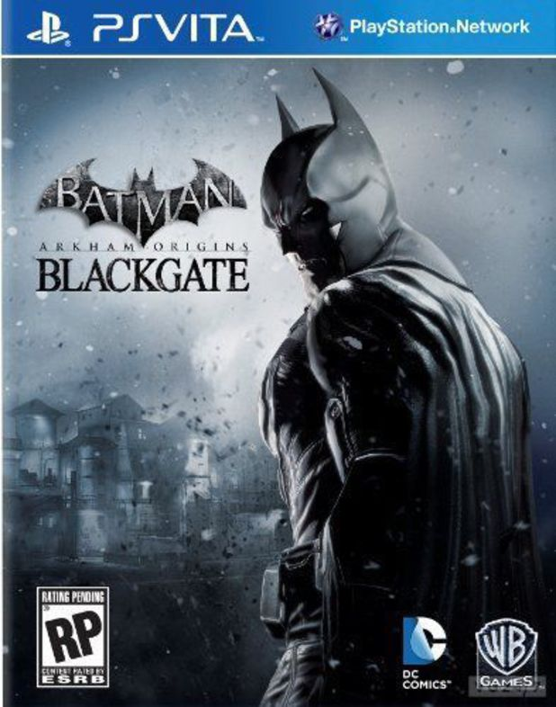 Box artwork for Batman: Arkham Origins Blackgate