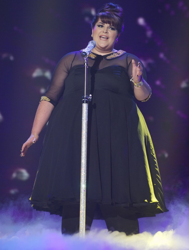 Rosie O'Sullivan performs on the 3rd 'Britain's Got Talent' Semi Final Show