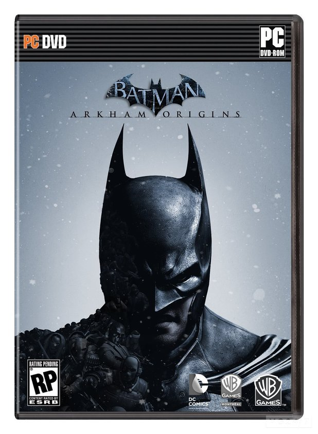 Box artwork for Batman: Arkham Origins