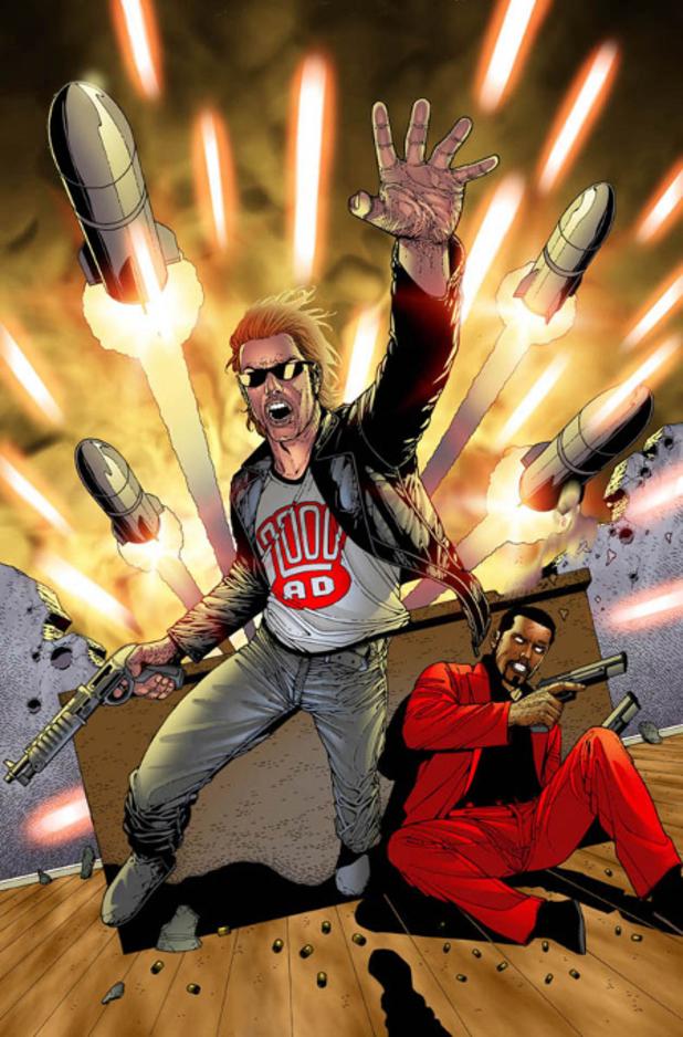 'Sinister Dexter' artwork