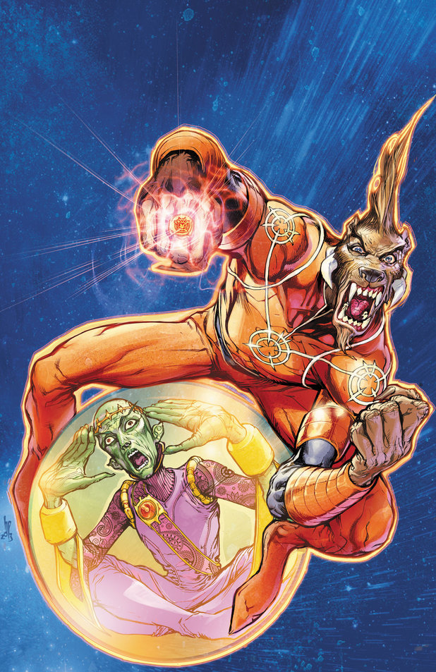 'Larfleeze' #1 artwork