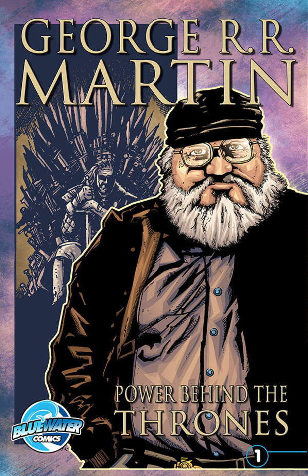 'George R.R. Martin: The Power Behind the Thrones' cover