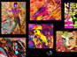 SRK, Kajol, Aishwarya, Ranbir art project