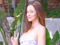 Autumn Reeser jokes that she's feeling more relaxed about her second pregnancy.