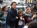 Brad Pitt faces a zombie pandemic in the big screen version of Max Brooks's World War Z.