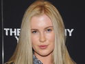 Ireland Baldwin sparked rumors that she was engaged by sporting a ring.