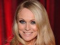 "Michelle Hardwick is ""blissfully"" happy with girlfriend Rosie Nicholl."