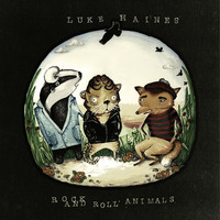 Luke Haines 'Rock and Roll Animals' album cover