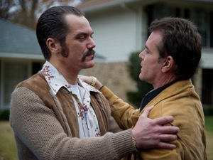 Michael Shannon and Ray Liotta in 'The Iceman'
