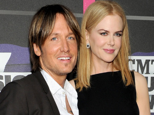 Keith Urban and Nicole Kidman arriving at the 2013 CMT Music Awards