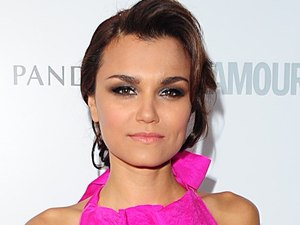 Samantha Barks at the 2013 Glamour Women of the Year Awards