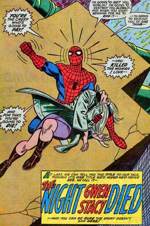 Spiderman: The Night Gwen Stacy Died