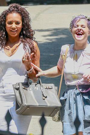 Mel B & Kelly Osbourne attending Kim Kardashian's baby shower