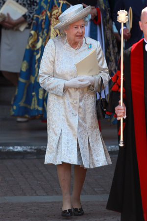 The Queen, 60th anniversary of the Coronation of Queen Elizabeth II at Westminster Abbey