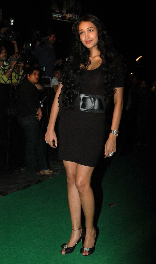 Jiah Khan at the premiere for Victory
