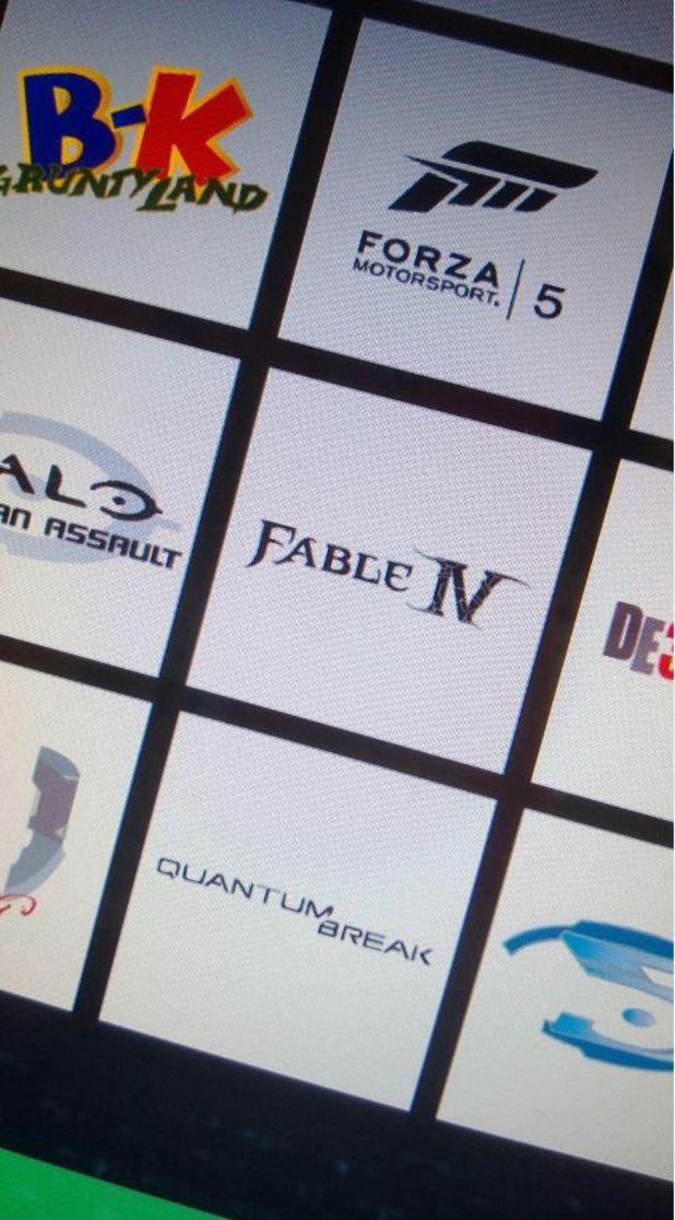 Leaked Microsoft E3 slate