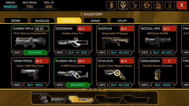 'Deus Ex: The Fall' screenshot
