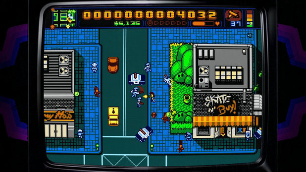 'Retro City Rampage' screenshot