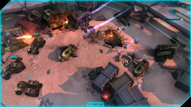 'Halo: Spartan Assault' screenshot