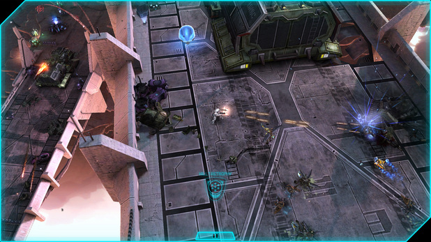 'Halo: Spartan Assault' screenshot
