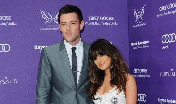 Cory Monteith and Lea Michele attend the 12th Annual Chrysalis Butterfly Ball.