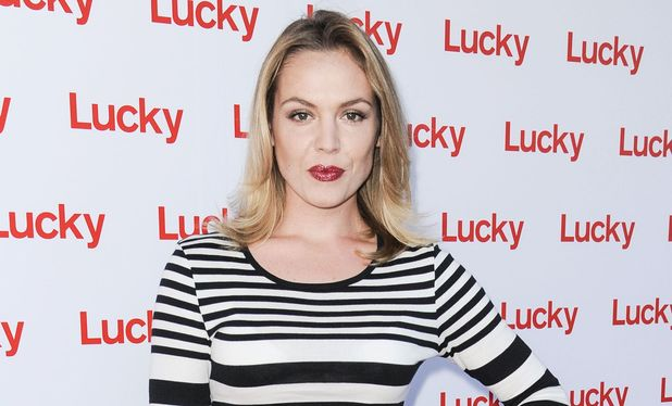 Agnes Bruckner, 'Lucky' magazine opening night