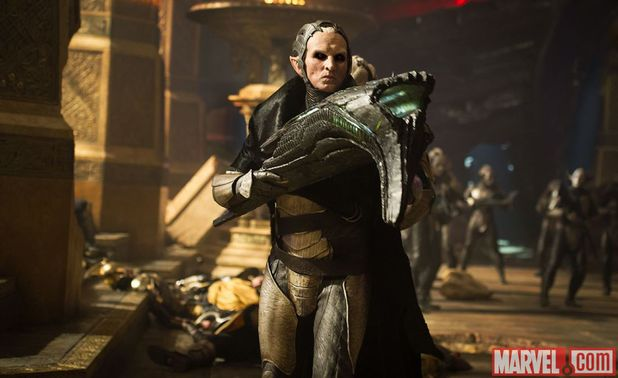 Christopher Eccleston in 'Thor: The Dark World'