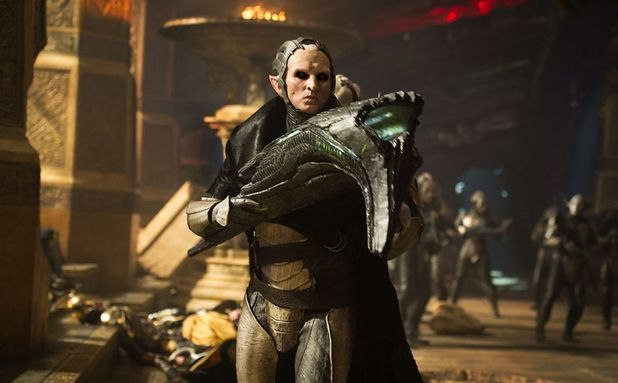 Christopher Eccleston in Thor The Dark World