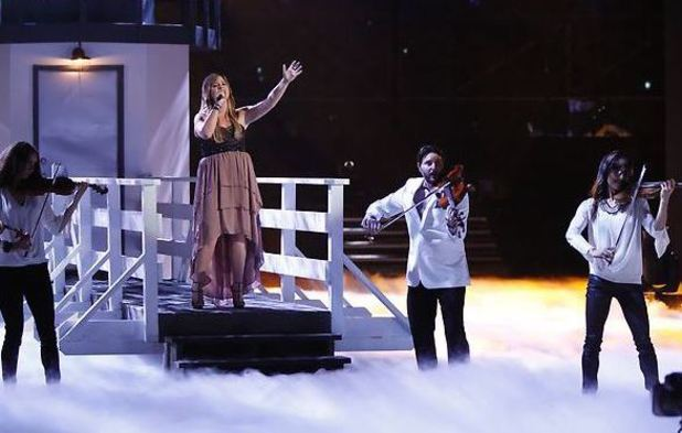 'The Voice' - Top 6 performance show: Holly Tucker