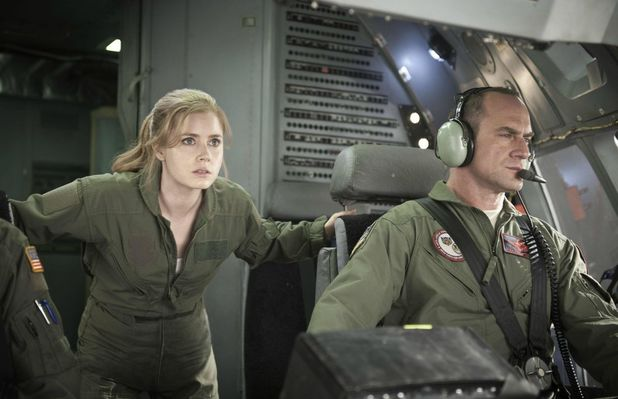 Amy Adams Lois Lane Christopher Meloni Colonel Hardy