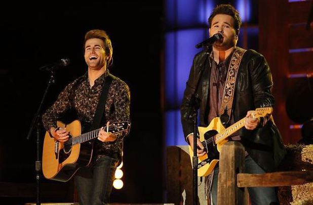 'The Voice' - Top 6 performance show: The Swon Brothers
