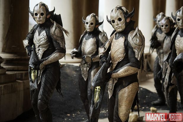 Dark Elves in 'Thor: The Dark World'