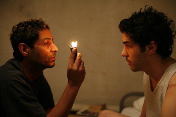 Hichem Yacoubi & Tahar Rahim in 'A Prophet' (2009)