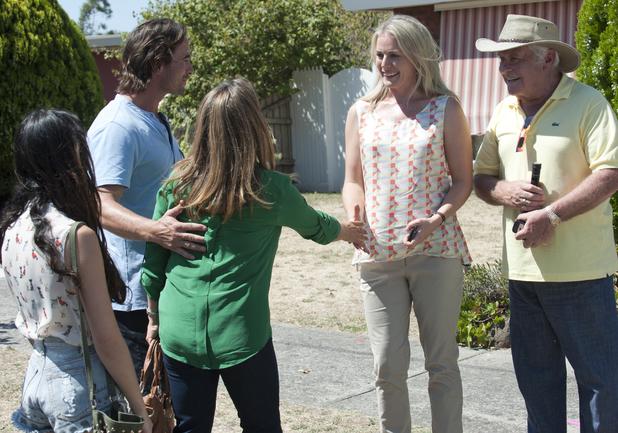 Lauren meets Brad's wife Terese.